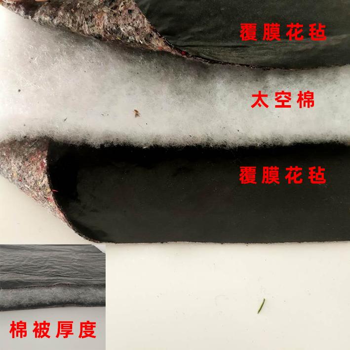 云南温室工程客户张先生订购棉被12276平到货